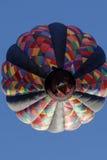 Balão de ar quente alto do voo Fotografia de Stock Royalty Free