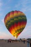 Balão de ar quente apenas ligado fotos de stock royalty free