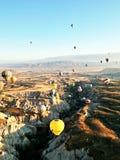 Balão de ar quente de Cappadocia Foto de Stock