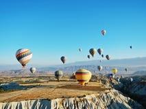 Balão de ar quente de Cappadocia Goreme Foto de Stock