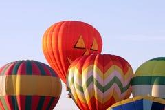 Balão de ar quente de sorriso Fotos de Stock Royalty Free