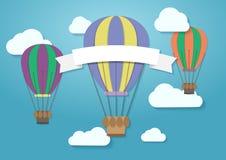 Balão de ar quente de VTCTOR Imagens de Stock Royalty Free
