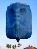 Balão de ar quente do galão foto de stock