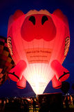 Balão de ar quente do porco do voo imagem de stock