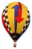 Balão de ar quente isolado da seta Imagens de Stock Royalty Free