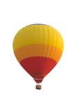 Balão de ar quente isolado no branco com trajeto de grampeamento Foto de Stock Royalty Free