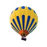 Balão de ar quente isolado no fundo branco imagens de stock