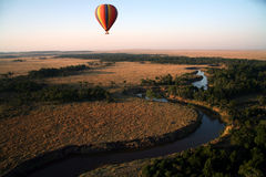 Balão de ar quente (Kenya) Imagem de Stock