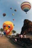Balão de ar quente no festival internacional 2009 do balão de Tailândia Imagens de Stock