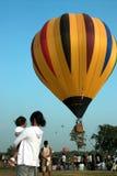 Balão de ar quente no festival internacional 2009 do balão de Tailândia Foto de Stock