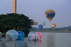 Balão de ar quente Putrajaya Foto de Stock Royalty Free