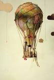 Balão de ar velho do steampunk Imagem de Stock Royalty Free