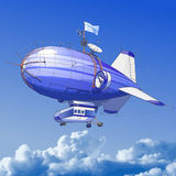 Balão de Dirigible ilustração stock