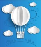 Balão de papel Foto de Stock Royalty Free