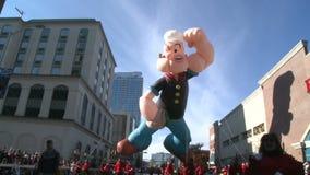 Balão de Popeye na parada (2 de 2)