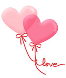 Balão do amor Fotografia de Stock Royalty Free