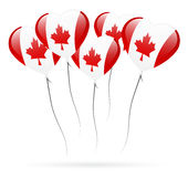 Balão do dia de Canadá Fotos de Stock Royalty Free
