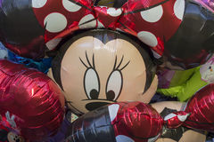 Balão do rato de Minne Imagens de Stock