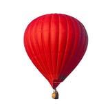Balão do vermelho do ar quente Fotografia de Stock Royalty Free