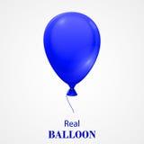 Balão festivo isolado no fundo branco Fotografia de Stock