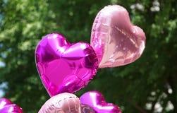 Balão Heart-shaped fotografia de stock royalty free