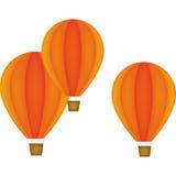 Balão Hot-air Imagens de Stock Royalty Free