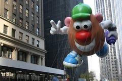 Balão principal de Mr.Potato. foto de stock royalty free