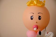 Balão principal recém-nascido fotografia de stock royalty free