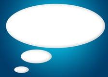 Balão silencioso - trajeto de grampeamento Imagens de Stock