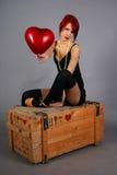 Balão vermelho Imagem de Stock Royalty Free