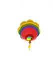 Balón de aire en el fondo blanco Fotos de archivo