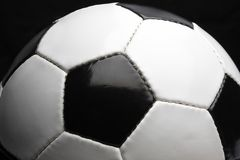 Balón de fútbol Foto de archivo