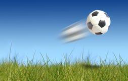 Balón de fútbol. Imágenes de archivo libres de regalías