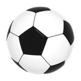 Balón de fútbol aislado Imagenes de archivo