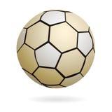 Balón de fútbol aislado del balonmano Imagen de archivo libre de regalías