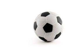 Balón de fútbol de la vendimia Fotos de archivo