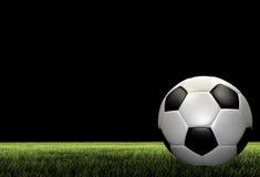 Balón de fútbol del balompié ilustración del vector