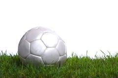 Balón de fútbol en el estudio Fotos de archivo
