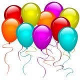 Balões ilustração royalty free