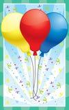 Balões Imagens de Stock Royalty Free