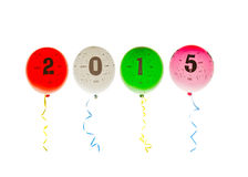 2015 balões Foto de Stock