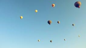 Balões acima de Cappadocia Fotografia de Stock