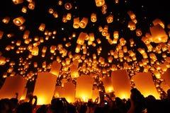 Balões afortunados santamente Fotografia de Stock Royalty Free