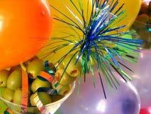 Balões & azeitonas Fotografia de Stock
