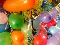 Balões & azeitonas Imagens de Stock