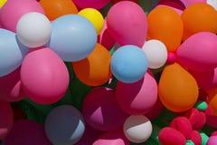 Balões bonitos brilhantes Foto de Stock Royalty Free