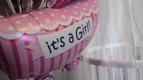 Balões bonitos do presente video estoque