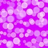 Balões brancos do fundo violeta roxo Sum?rio Cartão tirado mão da textura Espirra a goma de bolhas Projeto para fundos, ilustração stock