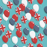 Balões britânicos ilustração do vetor