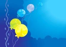 Balões coloridos Imagem de Stock